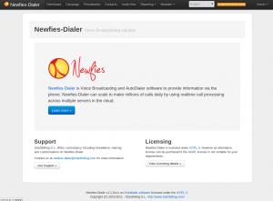 Newfies-Dialer screenshot v1.1
