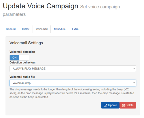 Voicemail detection